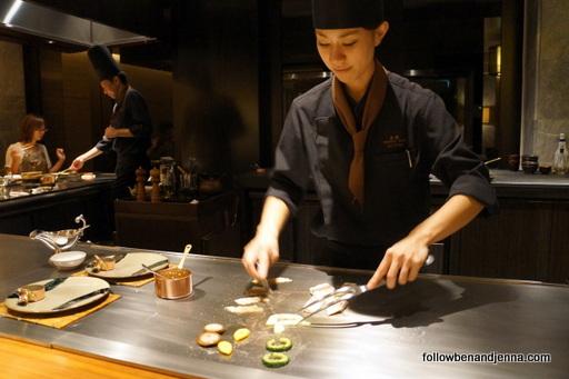 Teppanyaki Ritz-Carlton Okinawa Japan