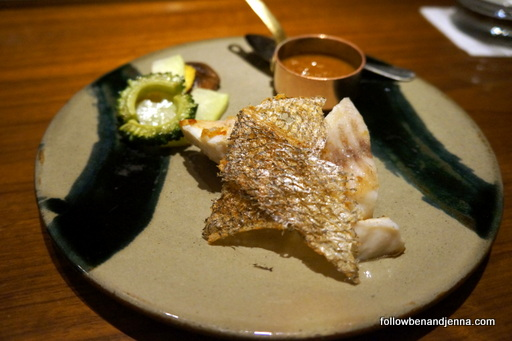 Seafood teppanyaki Ritz Carlton Okinawa Japan