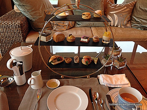 High tea Ritz Carlton Okinawa Japan Gusuku